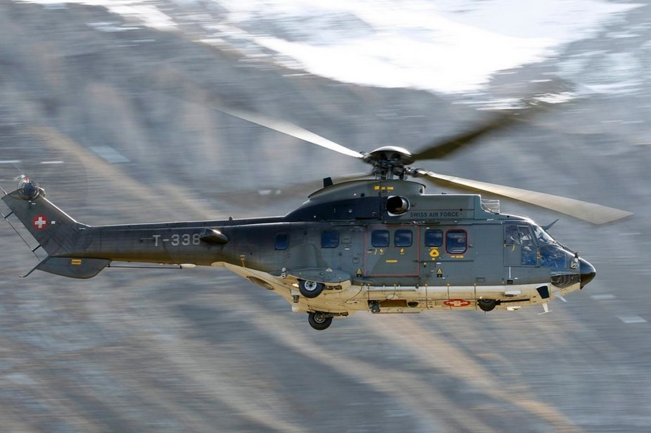 RUAG modernizes eight Swiss Air Force Eurocopter AS532 helicopters