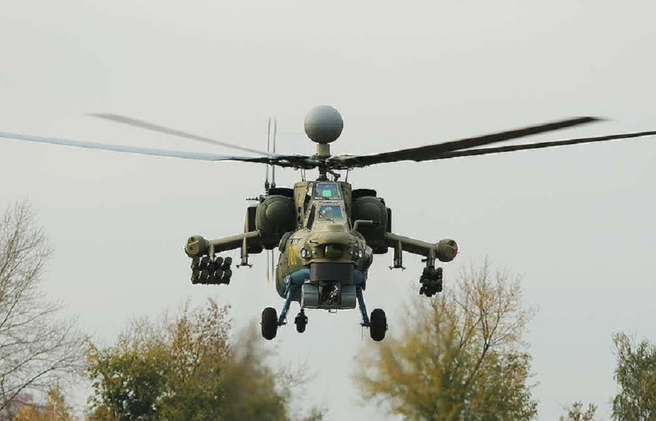 Russia Mi 28NM helicopters to be armed with new weapons
