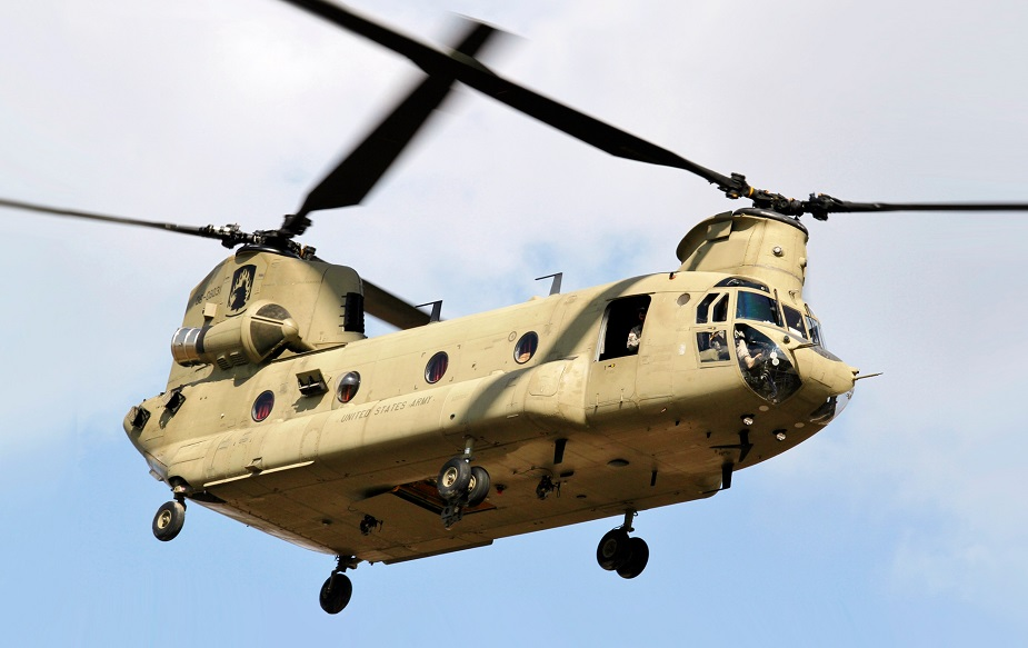 Indian Air Force inducts 4 multi mission Chinook heavy lift helicopters