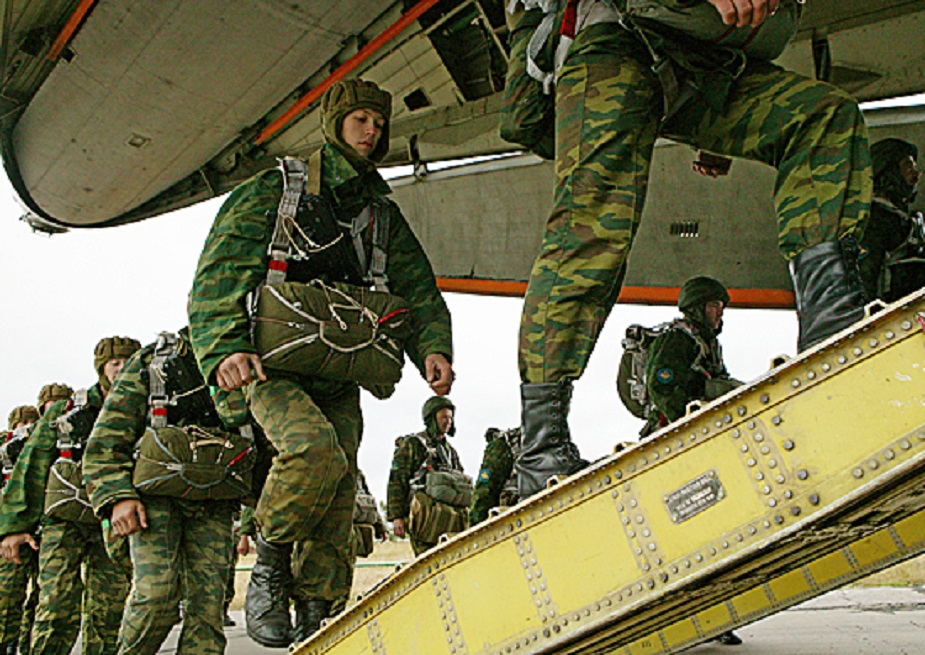 Russia Over 2500 paratroopers to participate in regimental tactical exercise II