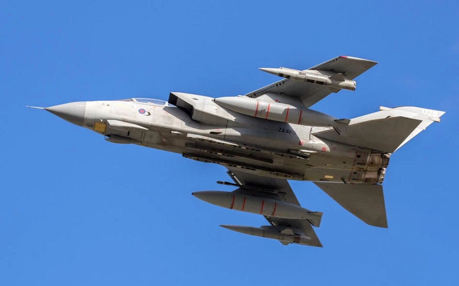 UK RAF Tornado Makes Its Final Flypast