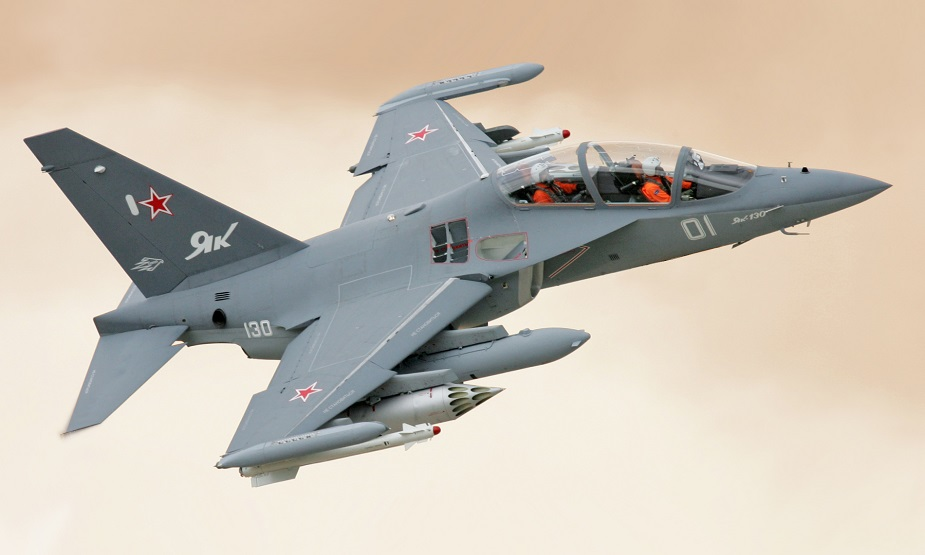 UAC to develop Yak 130 into combat jet