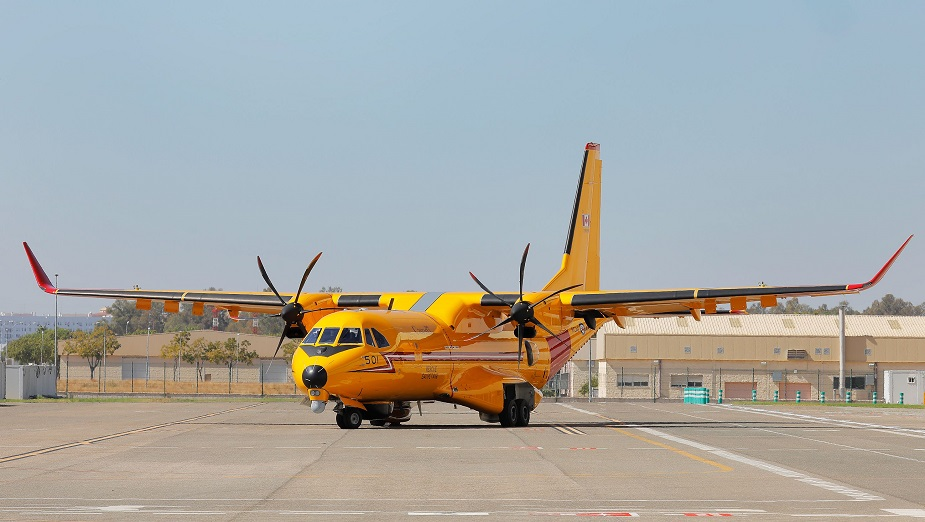 First Royal Canadian Air Force C295 shows off its final livery 01