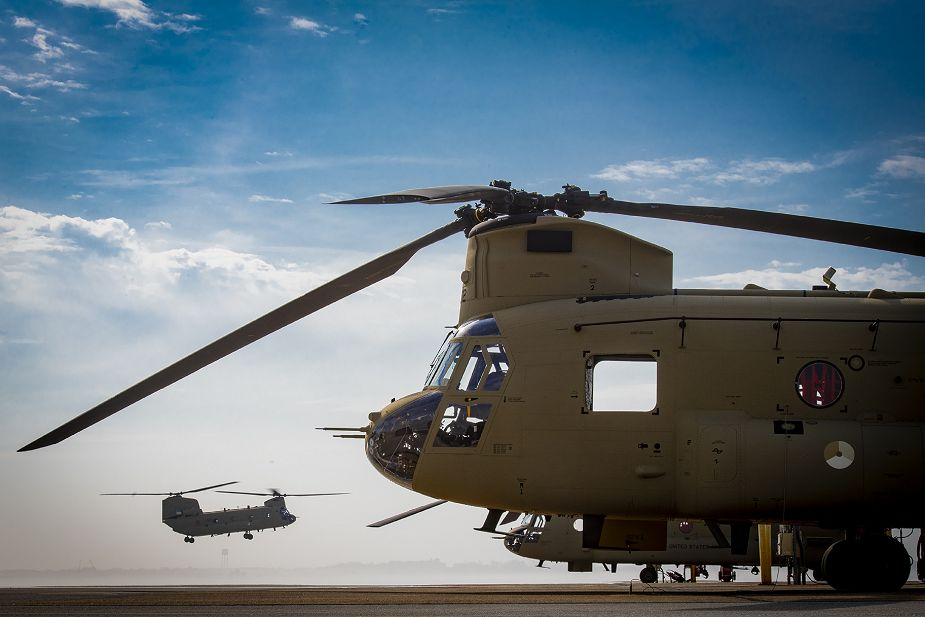 Boeing has delivered first CH 47F Chinook helicopter to Royal Netherlands Air Force 925 001