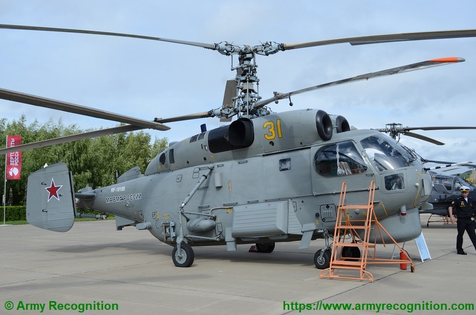 Russia creates new generation of shipborne helicopter radars