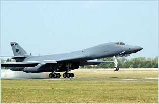 B-1 B-1B B-1R Lancer long-range strategic bomber aircraft technical data sheet specifications intelligence description information identification pictures photos images video United States American US USAF Air Force aviation aerospace defence industry military technology Boeing Rockwell