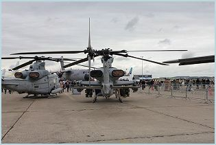 AH-1Z Viper attack helicopter technical data sheet specifications intelligence description information identification pictures photos images video United States American US USAF Air Force defence industry military technology
