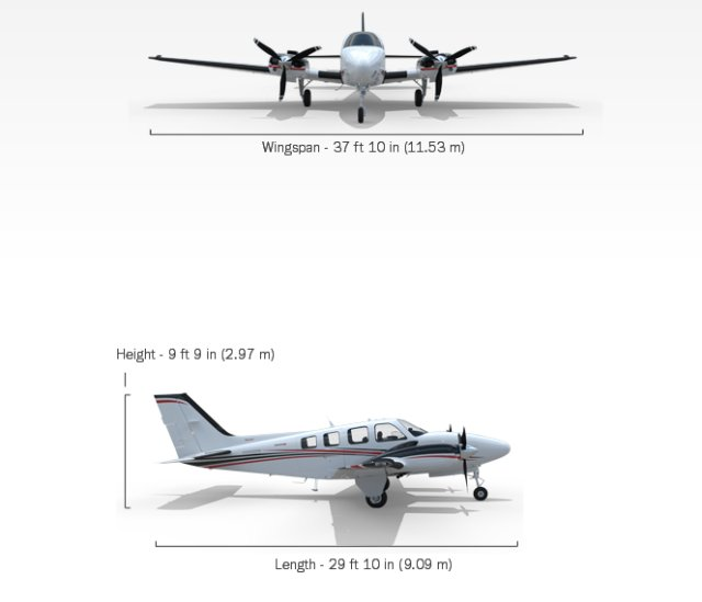 Baron G58 ISR reconnaissance aircraft technical data sheet specifications intelligence description information identification pictures photos images video US USAF United States American Air Force Beechcraft aviation aerospace defence industry military technology