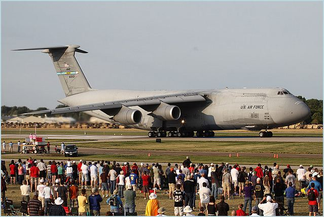 Lockheed Martin [NYSE: LMT] delivered the fifth production C-5M Super Galaxy to the United States Air Force, July 20, 2012, at Robins Air Force Base, Ga.