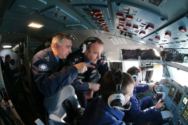 Russian pilots start trainin on new Il 76MD 90Atransport aircraft 640 003
