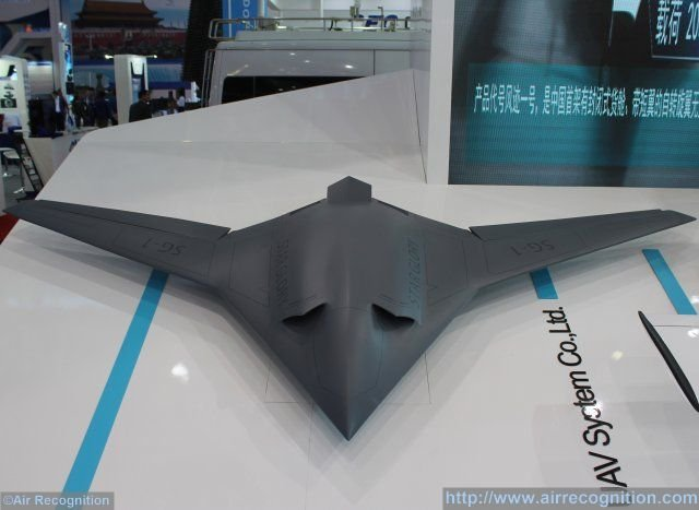 China Presents Flying Wing Stealth Drone Projects In Zhuhai