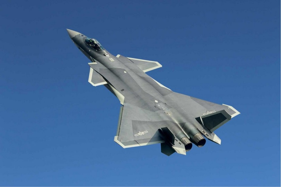 Chengdu J 20 Mighty Dragon Fighter Jet data pictures video 01