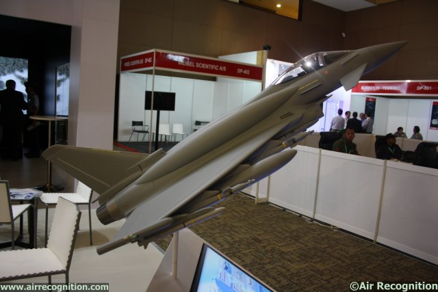 The Eurofighter Consortium is showcasing the Eurofighter Typhoon, one of the world's most advanced fast-jet fighters, at Indo Defence because it believes the jet is probably the best solution for Indonesia at this particular time of its development.