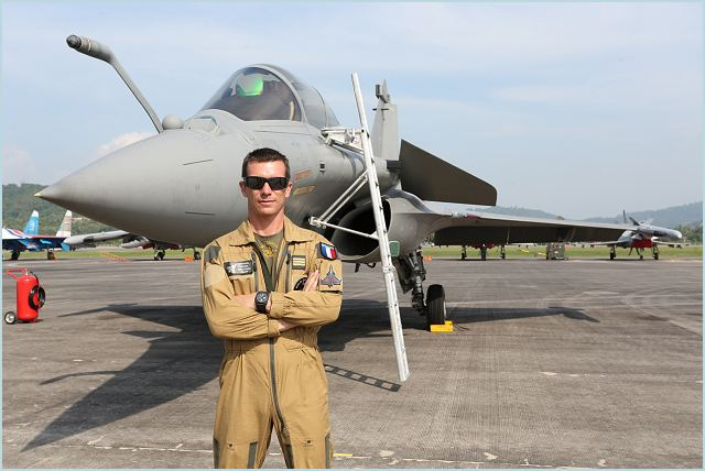"Flying the Rafale for fighter jet pilot Michael ""Mikael"" Brocard, 42, is quite a breeze. Even with 4,000 flying hours of which 1,400 (hours) are with the Rafale, he still gets excited and look forward to taking the Rafale to the skies every time. And he has a very good reason for it."