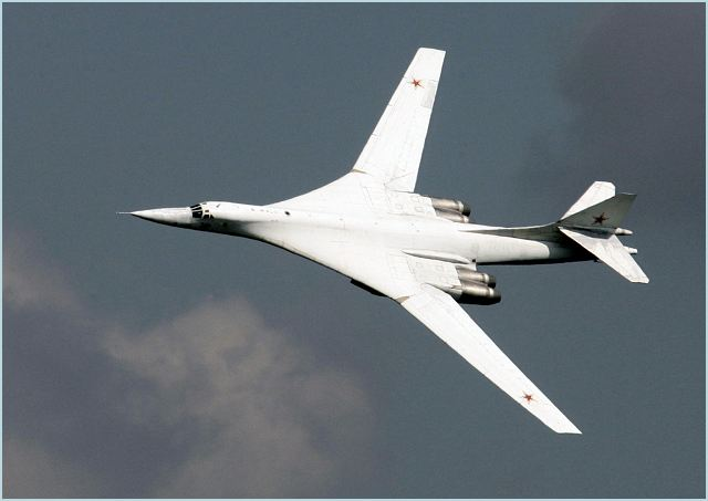 Tu-160 Tu-160M Tupolev strategic bomber aircraft technical data sheet specifications intelligence description information identification pictures photos images video Russia Russian Air Force aviation air defence industry military technology