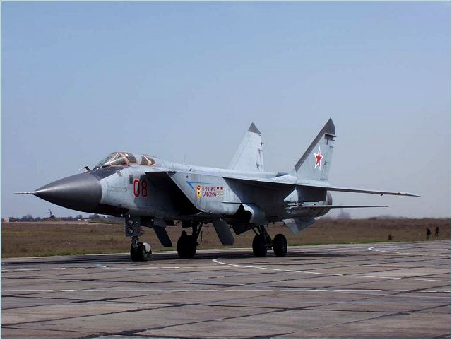 More than 30 MiG-31 Foxhound supersonic interceptor aircraft are on round-the-clock high-alert duty every day protecting the Russian airspace from airborne threats, Air Force spokesman Col. Vladimir Drik said.