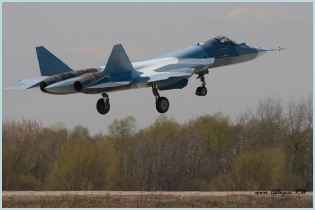 T-50 PAK-FA Sukhoi  multi-role fighter aircraft technical data sheet specifications intelligence description information identification pictures photos images video Russia Russian Air Force defence industry technology