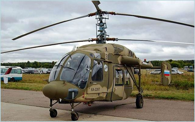 The Russian Air Force is to acquire up to 30 Kamov Ka-226 light helicopters for courier and communications duties by 2020, Defense Ministry spokesman Vladimir Drik said on Monday, January 16, 2012.
