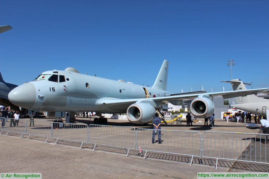 paris air show 2019 japan p 1 maritime patrol aircraft