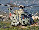 NH90 TTH NFH multirole multi mission helicopter technical data sheet specifications intelligence description information identification pictures photos images video European France French Air Force defence industry military technology tactical troop transport NATO frigate