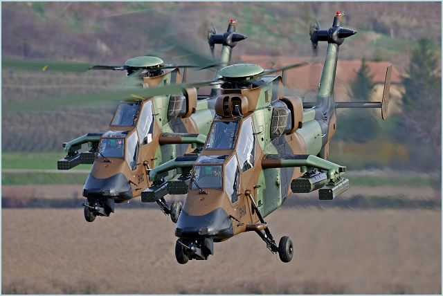 Tigre EC 665 Eurocopter multi-role attack helicopter data sheet specifications intelligence description information identification pictures photos images video France French Air Force aviation aerospace defence industry military technology