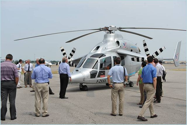 Eurocopter continues its U.S. tour of the X3 high-speed hybrid helicopter today in Huntsville, Ala., where the aircraft will perform the first of several flight demonstrations for military leaders and aviators in several locations across the country.
