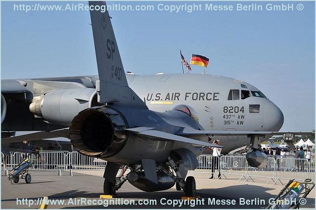 More than 50 U.S. military personnel are representing the Department of Defense at the show, which kicked off Tuesday. The Berlin Air Show is considered to be one of the premier air shows in the world and the U.S. military has five different types of aircraft on display this year.