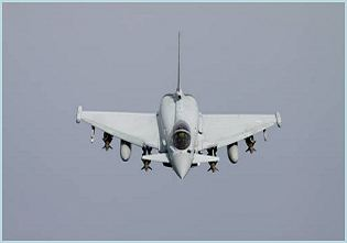 Eurofighter Typhoon multirole fighter aircraft technical data sheet specifications intelligence description information identification pictures photos images video Germany German Air Force defence industry military technology
