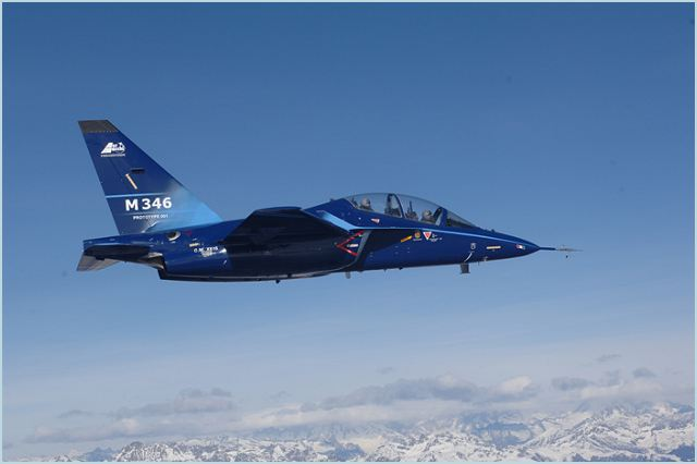 M 346 Trainer Aircraft Technical Data Sheet Specifications