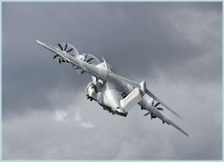 A-400M airbus military transport aircraft technical data sheet specifications intelligence description information identification pictures photos images video Spain Spanish Air Force defence industry technology