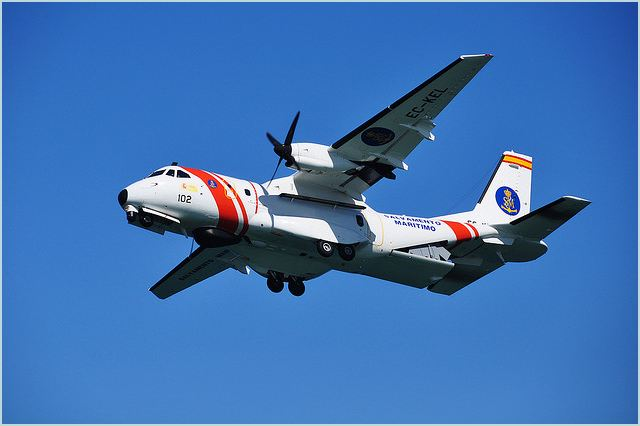 CN-235 Medium range military transport aircraft technical data sheet specifications intelligence description information identification pictures photos images video Spain Spanish Air Force aviation defence industry technology