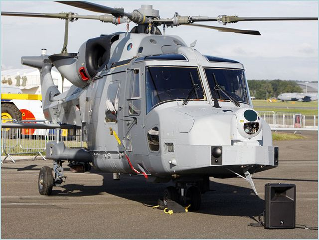 The first two of 62 Lynx Wildcat AW159 helicopters ordered by the British MOD were handed over by manufacturer AgustaWestland at the Farnborough International Airshow. The Somerset-based firm is benefiting from the £250m support and training contract that is sustaining 500 jobs.