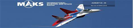 International Aviation and Space Salon Moscow Russia