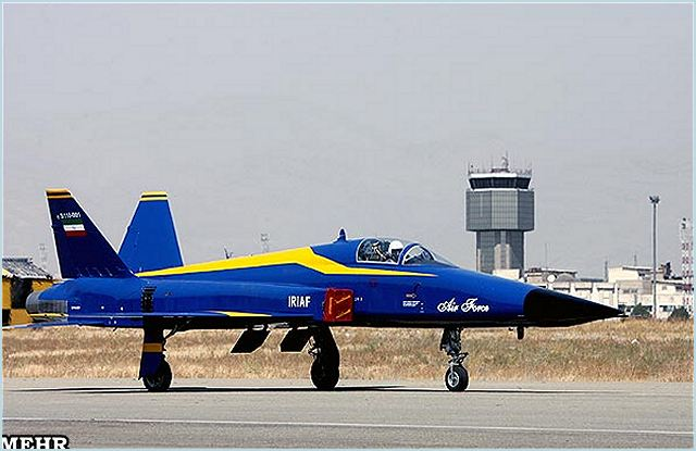 Saeqeh is a single-seater fighter jet. It is the second generation of Azarakhsh fighter. Saeqeh fighter planes were first tested successfully in September 2007. The Saeqeh is a joint product of the Iranian Air Force and the Defense Ministry.