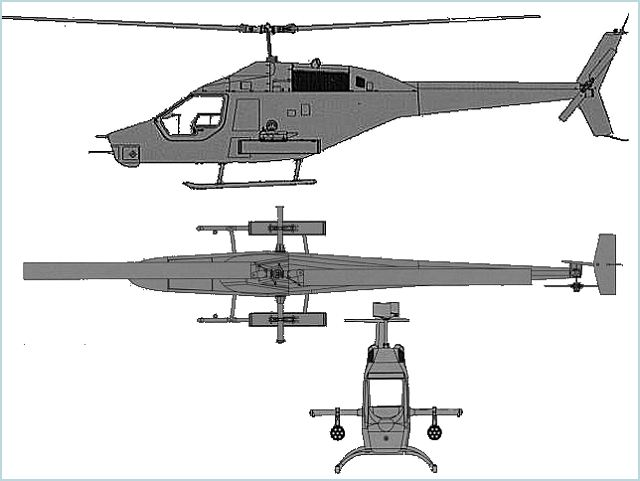 Shahed 285 AH-85A AH-85B AH-85C helicopter technical data sheet specifications intelligence description information identification pictures photos images attack reconnaissance maritime video Iran Iranian Air Force defence aviation industry military technology