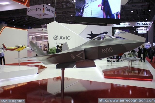 Dubai Airshow 2015 AVIC introduces its FC 31 for the first time outside of China 640 002