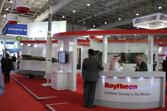 Exhibition Stand Agreement : Raytheon and advanced electronics company sign agreement