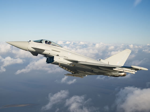 Working in partnership with the Eurofighter and Euroradar consortiums, test aircraft IPA5 has been undergoing modifications and upgrades as part of the ongoing E scan Radar development and integration programme