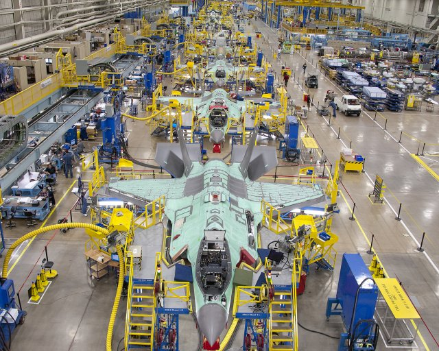 The Pentagon announced on Friday it had awarded Lockheed Martin Corp - a contract valued at $4.7 billion for an eighth batch of F-35 fighter jets that lowered the average price per jet by 3.5 percent from the last contract, and 57 percent from the first batch. The Pentagon's F-35 program office said the deal includes 29 jets for the United States and 14 for five other countries: Israel, Japan, Norway, Britain and Italy.