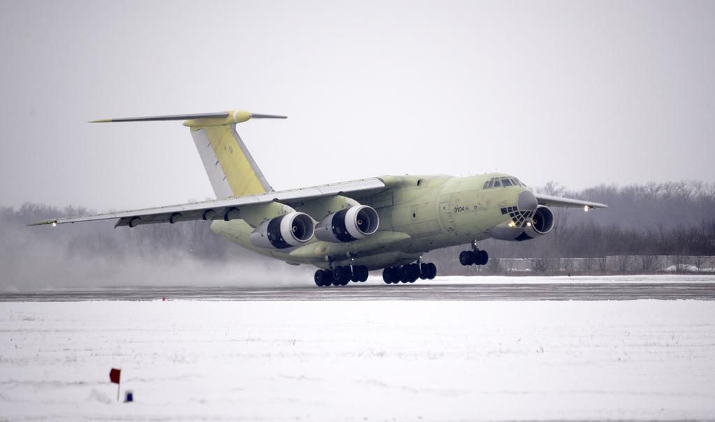 The first serial-production Ilyushin Il-76MD-90A (Il-476) strategic transport aircraft has made its maiden flight, the Russian Aviastar-SP production facility announced on 30 December. Aircraft 0104 flew for more than two hours at Aviastar-SP's Ulyanovsk aircraft factory, about 700 km east of Moscow.