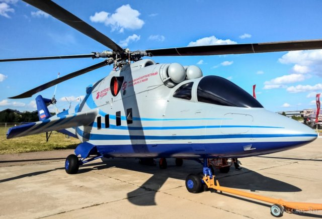 Flying testbed of Russia s future high speed helicopter made its maiden flight 640 001