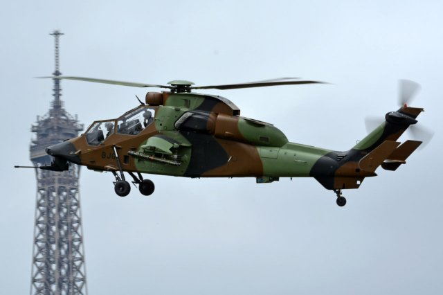 France Defence Procurement Agency orders 7 aditionnal Tigre combat helicopter 640 001