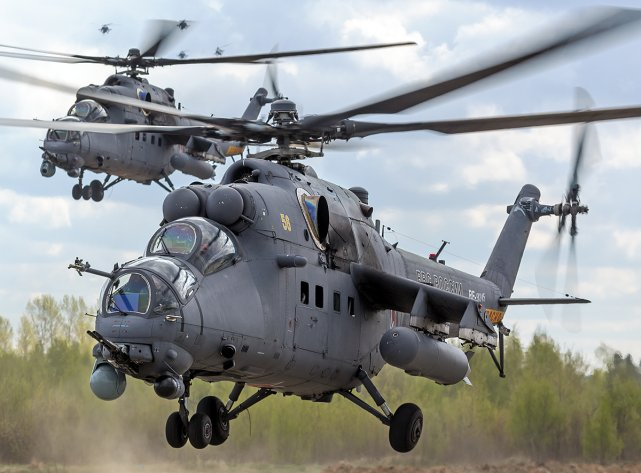 Pakistan reportedly close to sign deal for four Russian-made Mi-35M