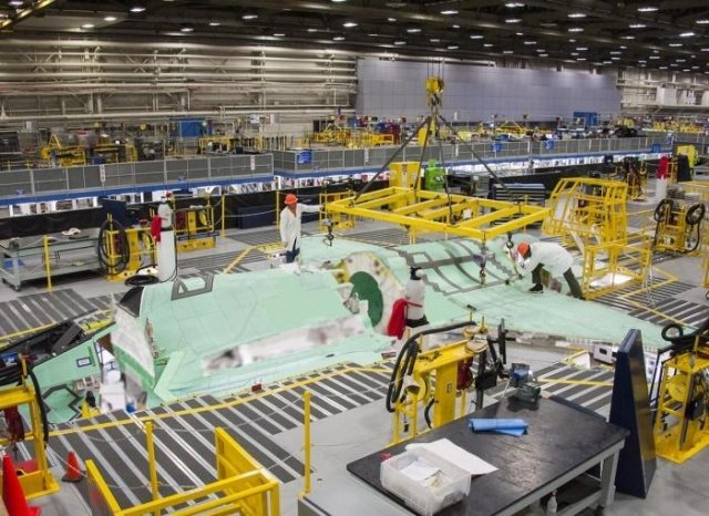 The first F-35A wing-set produced by the Italian company Alenia Aermacchi entered the F-35 production line in Fort Worth, marking a milestone for the Lockheed Martin-Alenia Aermacchi collaboration on the program. Finmeccanica-Alenia Aermacchi produced the full wing-set at the F-35 Final Assembly & Check-Out (FACO) facility in Cameri, Italy.