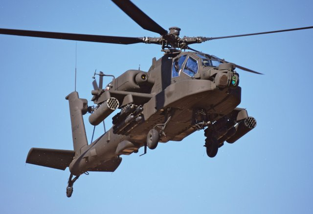Boeing rolled out South Korea s first AH 64E Apache Guardian attack helicopter 640 001