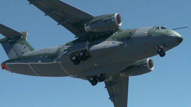 Rockwell Collins to provide key digital control systems for Brazil s KC 390 military airlifter program 640 001