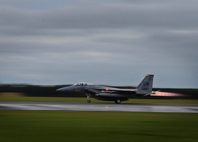 USAF deployed F-15C jets to Incirlik to protect Turkey 640 001