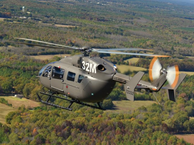 US Army orders 12 additional UH 72A Lakota utility helicopters 640 001