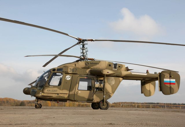 Russia Could Equip India39s Future Ka226T Helicopters With Night Vision G