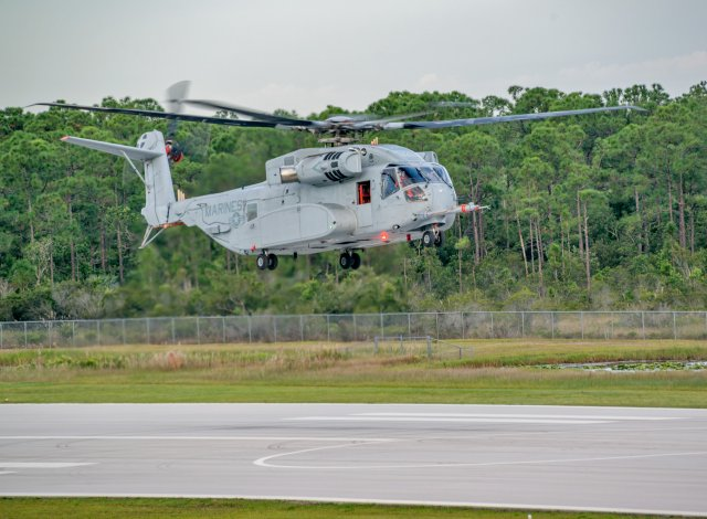 Sikorsky CH 53K Stallion helicopter prototype successfully performed first test flight 640 001